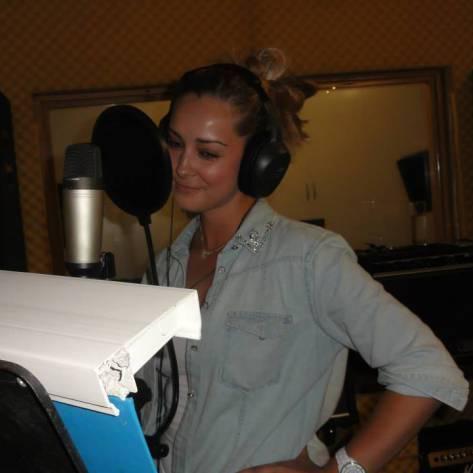 Recording at AlgoaFM