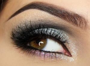 brown-eyes-silver-makeup1