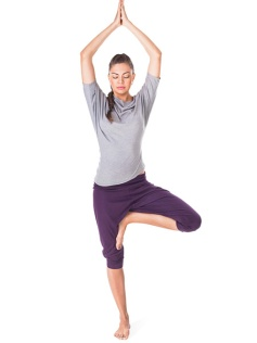 Yoga pose for Opening the Crown Chakra