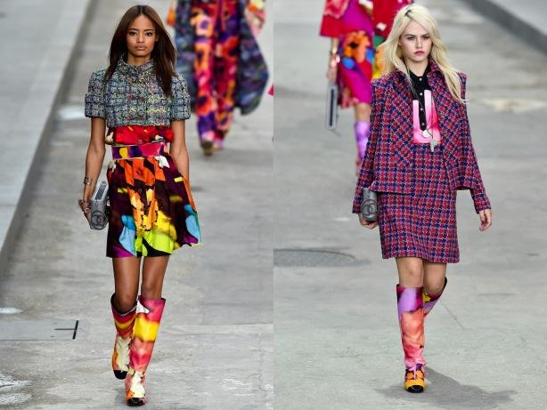 Tweed Fashion Trend SS15, Chanel, Paris Fashion Week