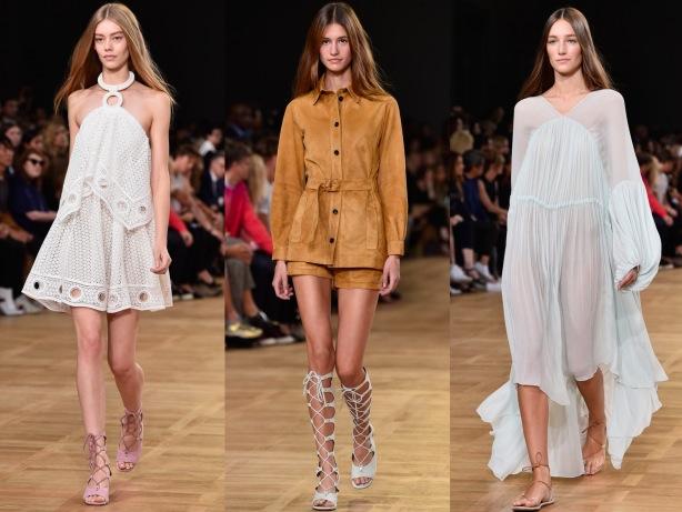 1970's Fashion Trend SS15, Chloe, Paris Fashion Week