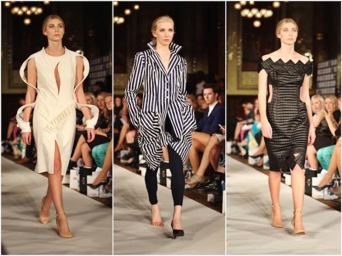Asymmetric Fashion Trend, Lenie Boya SS15, London Fashion Week