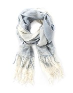 Trenery Jacquard Double Tassle Scarf, Woolworths R499