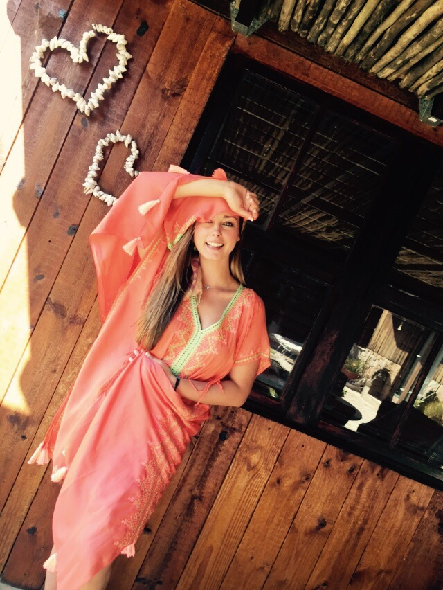 Orange Bali Outfit