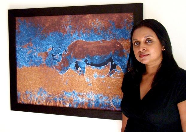 Michelle Benjamin Blue Rhino