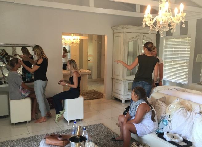 Behind-The-Scenes Bridal Shoots