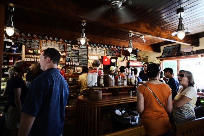 Stock photograpphy coffee bar