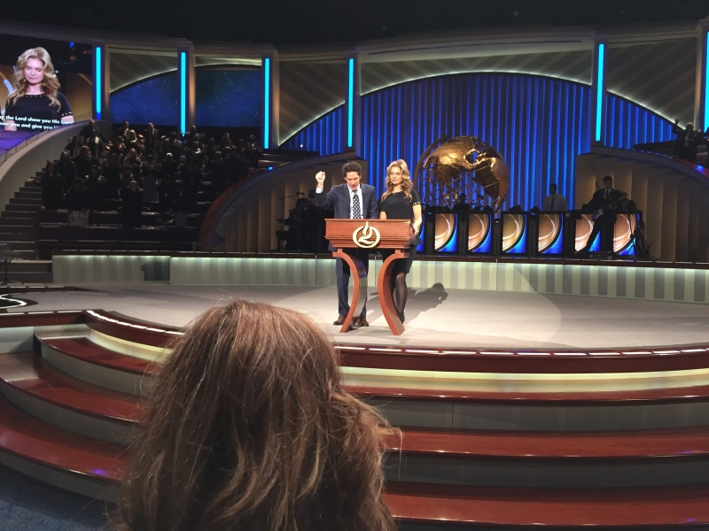 Experience Houston: Joel Osteen at Lakewood Church