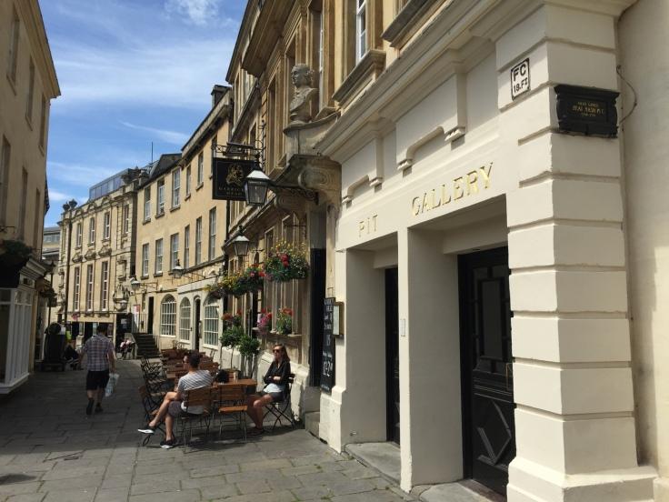 Typical Bath Street Scene