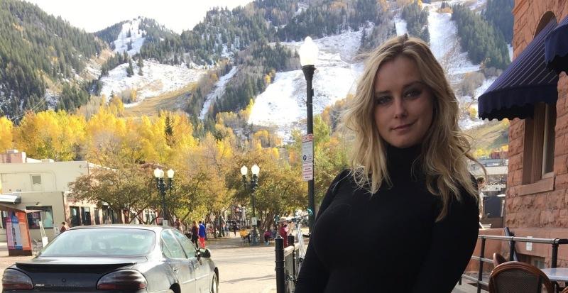 Sidewalk in Aspen