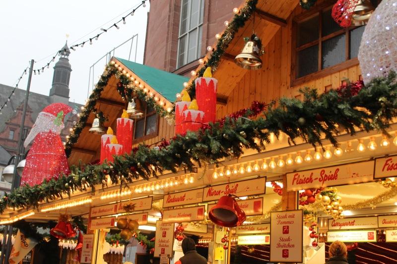 Tinsel + Wurst at The Frankfurt ChristmasMarkets